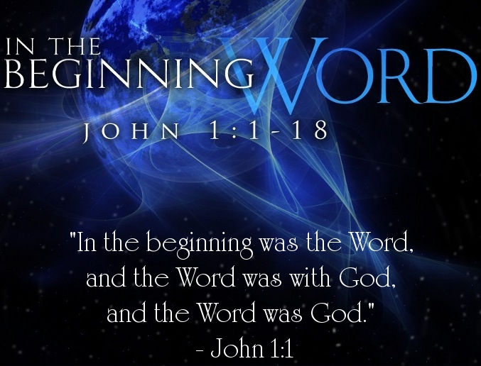 Image result for in the beginning was the word